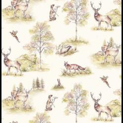 Szalvéta - Őszi erdei állatok