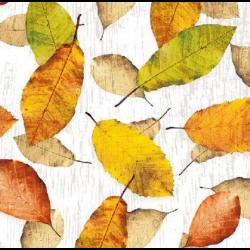 Koktél szalvéta - Őszi falevelek