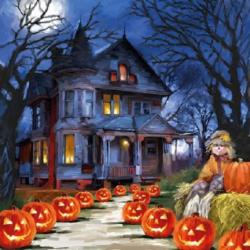 Szalvéta - Halloween este
