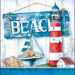 Koktél szalvéta - Beach