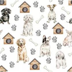 Szalvéta - Kutyák és kutyaházak