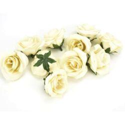 Rózsafej kicsi 10db/csomag, krém
