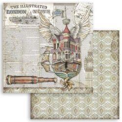 Kétoldalas scrapbook papír 30,5x31,5 cm