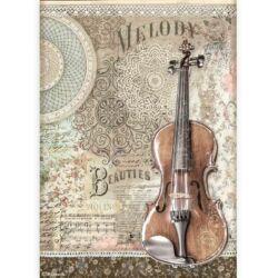 Rizspapír A4 - Szenvedély hegedű