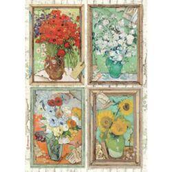 Rizspapír A4 - Szalon Van Gogh