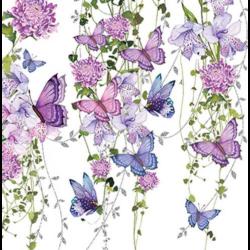 Szalvéta - Pillangó csobbanás