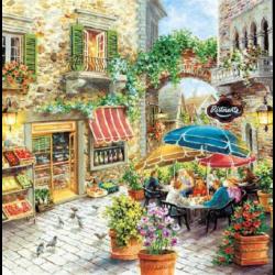 Szalvéta - Étterem festmény