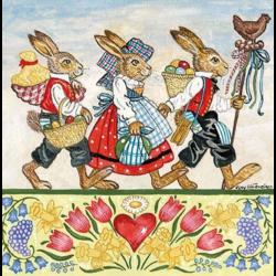 Szalvéta - Húsvéti menet