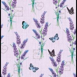 Koktél szalvéta - Levendula lilac