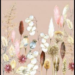 Koktél szalvéta - Potpourri növények