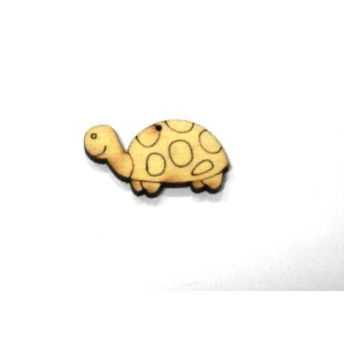 Mini Fafigura - Teknősbéka