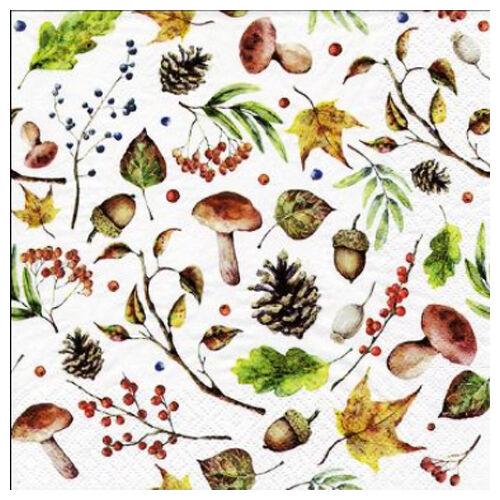 Szalvéta - Őszi termések