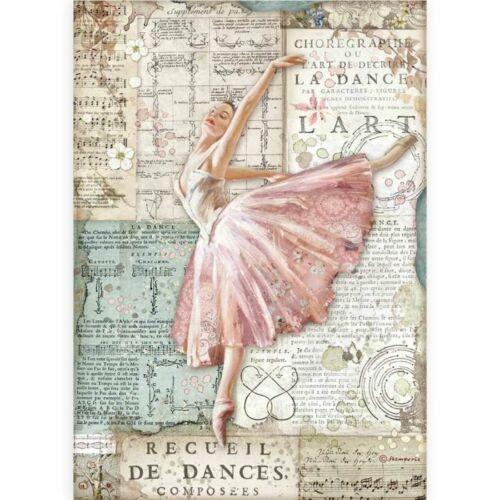 Rizspapír A4 - Szenvedély táncos