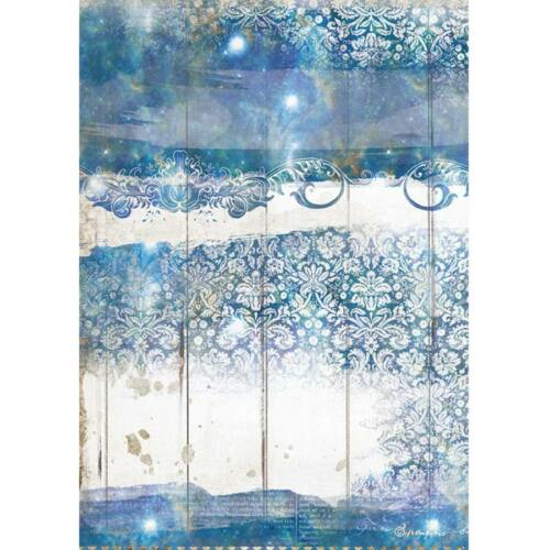 Rizspapír A4 - Romantika tengeri álom textúra
