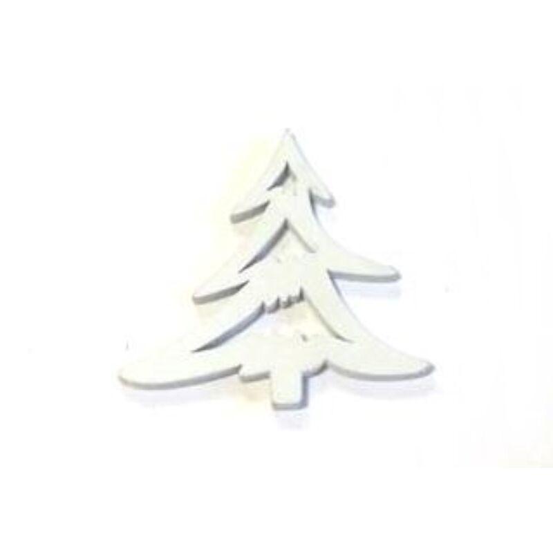 Fehér sikkes fenyő fafigura
