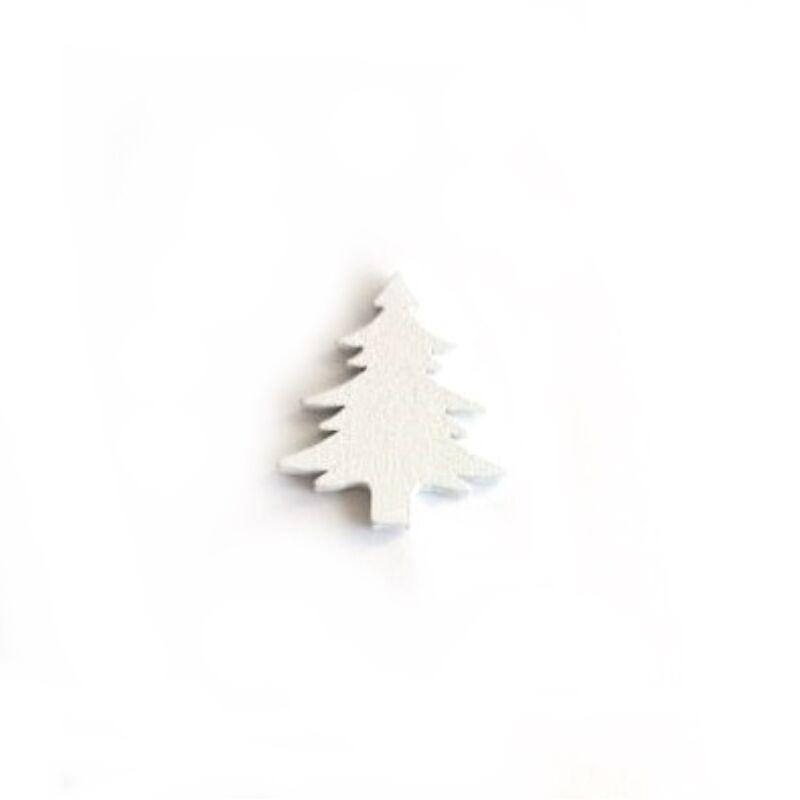 Fenyő fafigura 3cm fehér